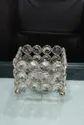 Square Royal De Wajidsons Square Crystal Candle Holder Tea Light Votive