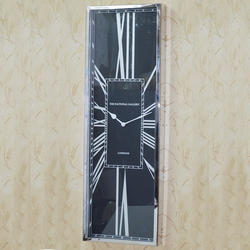 Rectangle Black Dial Wall Clocks