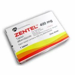 Zentel 400 Mg  Tablets
