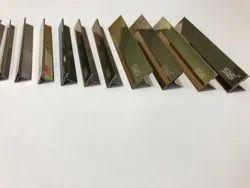 PVD Titanium Coated SS T Profiles