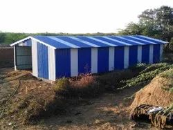 Sheet Metal Shed