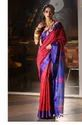 Handloom Cotton Check Saree