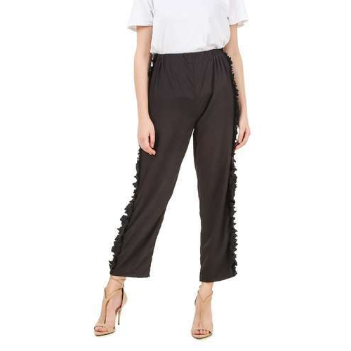 895c45c7d Ladies Cotton Black Stylish Pants, Waist Size: 26.0, 28.0 & 30.0, Rs ...