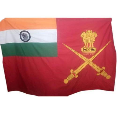 Indian Military Cotton Flags