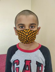 Printed Cloth Face Mask For Kids
