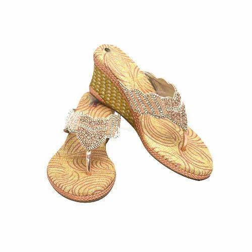 Girls Partywear Slipper At Rs 1550 Pair Ladies Slippers Id