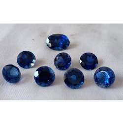 Blue Sapphire Imitation Stone