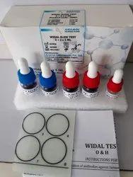 Widal Slide Test Kit