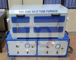 Two Zone Split Tubular Furnace