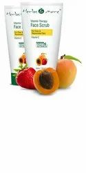 Strawberry Cream Vitamin Therapy Face Scrub, For Personal, Packaging Size: 45gm