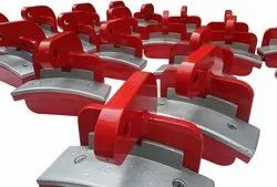 POLYURETHANE COATED PIPE CLAMPS
