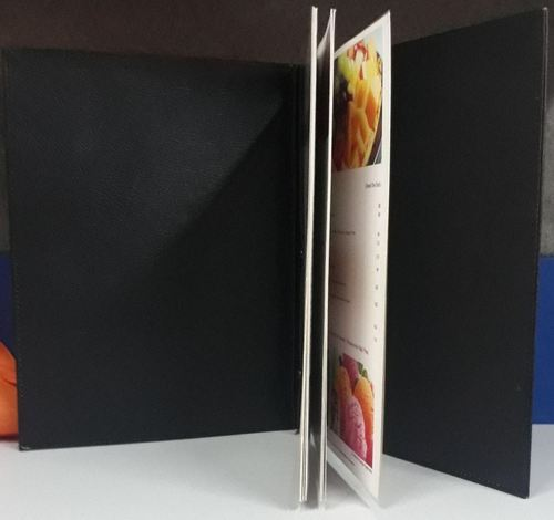 Hotel Leather Products - Leather Menu Folder Manufacturer