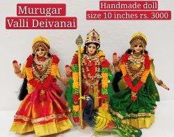 Murugar Valli Deivanai Golu Doll
