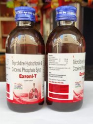 Codeine Phosphate 10 mg, Triprolidine 1.25mg Syrup