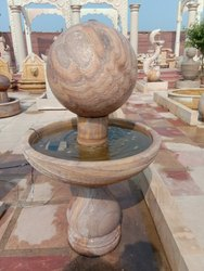 Rainbow Sandstone Garden Fountain