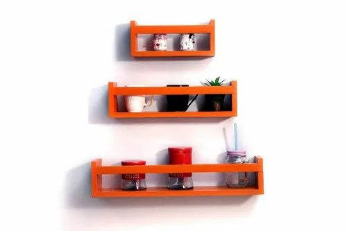 16064abb41 Manufacturer of Amaze Shoppee Wood Set Top Box Wall Shelf, Black & Amaze  Shoppee Set Top Box Wall Shelf (Orange) by AMAZE SHOPPEE, Saharanpur