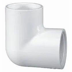 White 90 Degree PVC Elbow, 0.5- 4 Inch
