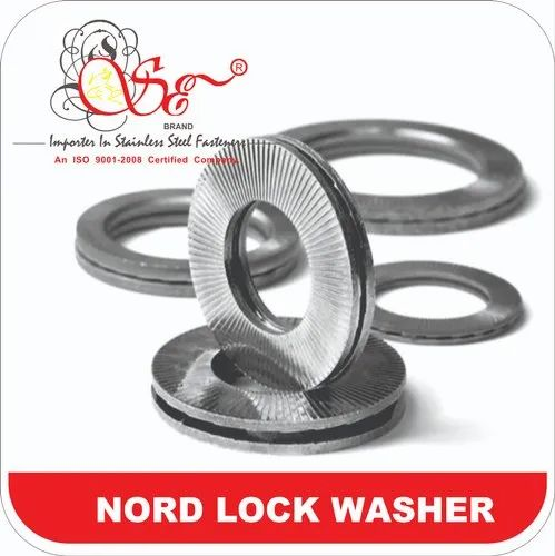20 pcs Metric DIN 93 M6 Tab Washer Stainless Steel A4