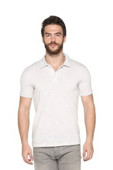 Casual Wear Men's Solid Polo T-Shirt, Size: S TO XXL