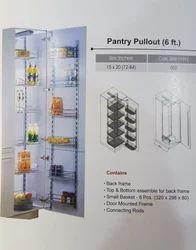 6-7 Feet Economy Wire Pantry Unit