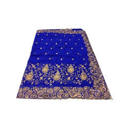 Chiffon Party Wear Embroidered Fancy Saree, 5.5 M (Separate Blouse Piece)