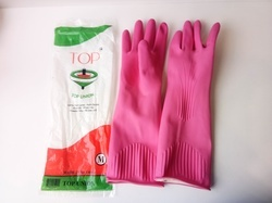 Top Union Wrinkle Rubber Hand Gloves