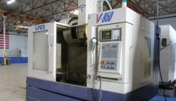 Used & Old Machine   - Viper Vertical Machine Center Available In Warehouse