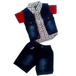 Boys Cotton Kids Baba Suit with Jacket