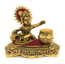 Gold Plated Laddu Gopal Statue
