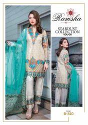 Embroidered Wedding Wear Pakistani Chiffon Suits