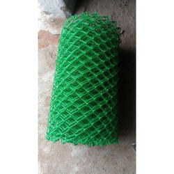 Green Coated Chain Link Fencing