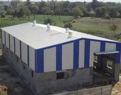 Galvanised Fabricated Metro Shed Installation Service