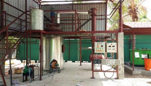 Oorja Waste Plastic Pyrolysis Plant, Capacity: 2 TPD And 5