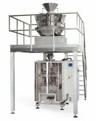 sky Center Seal Poha Packing Machine, Pouch Capacity: >1000 grams, Capacity: 3000-4000 pouch per hour