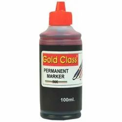 Gold Class 100 ml Red Permanent Marker Ink