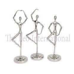 Decorative Metal Dancing Sculpture