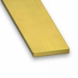 Rectangular Brass Flat, Thickness: 6-25 Mm