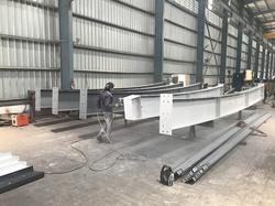 Steel Prefab Pre Prefabricated Structures, For factory
