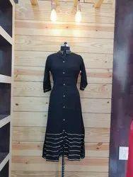 Stitched Women's Designer Kurtis