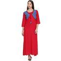 Red Long Kurta Jacket style