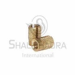 DBI-018 Brass Press Lock Type Insert