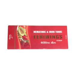 Trade Wings Hematinic And Iron Feriwings Tonic, 300 Ml, Packaging Type: Box