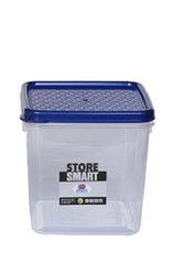 Square Airtight Plastic Food Container 1900ml