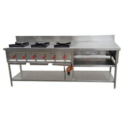 Commercial Three Burner Stove