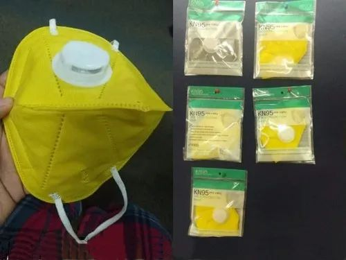 KN-95 Face Mask For Covid Protection