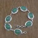 Lapis Lazuli Gemstone 925 Sterling Silver Jewelry bracelet