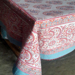 Hand Block Printed Kantha Bed Cover