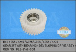 Gear 29T With Bearing FL3-2169-000 IR A 6055 / 6265 / 6075/ 6065 / 6255 / 6275