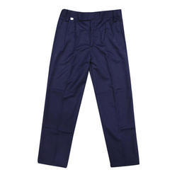 Cotton Boys School Pant, Size: Large And XL