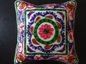 Ethnic Embroidered Cushion Cover